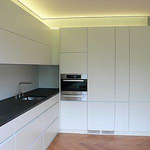 Küche Ecke weiss