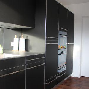 Küche schwarz